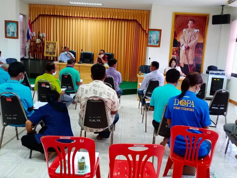ประชุมประชาคมระดับตำบล  เพื่อจัดทำแผนพัฒนาท้องถิ่น(พ.ศ.2561-2565)